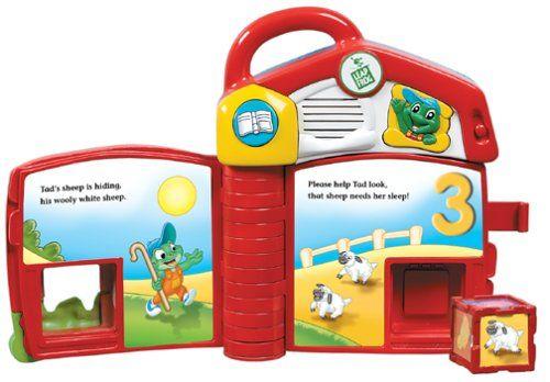 bebf45c66bba LeapFrog  Tad s Counting Farm Smart Block Book  Toy