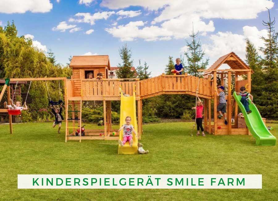 Spielgerate Garten Kinder Maxi Set Kinderspielgerat Smile Farm Garten Fur Kinder Farm Fur Garten Kinder Kinderspielgerat M In 2020 Park Slide Farm Settings