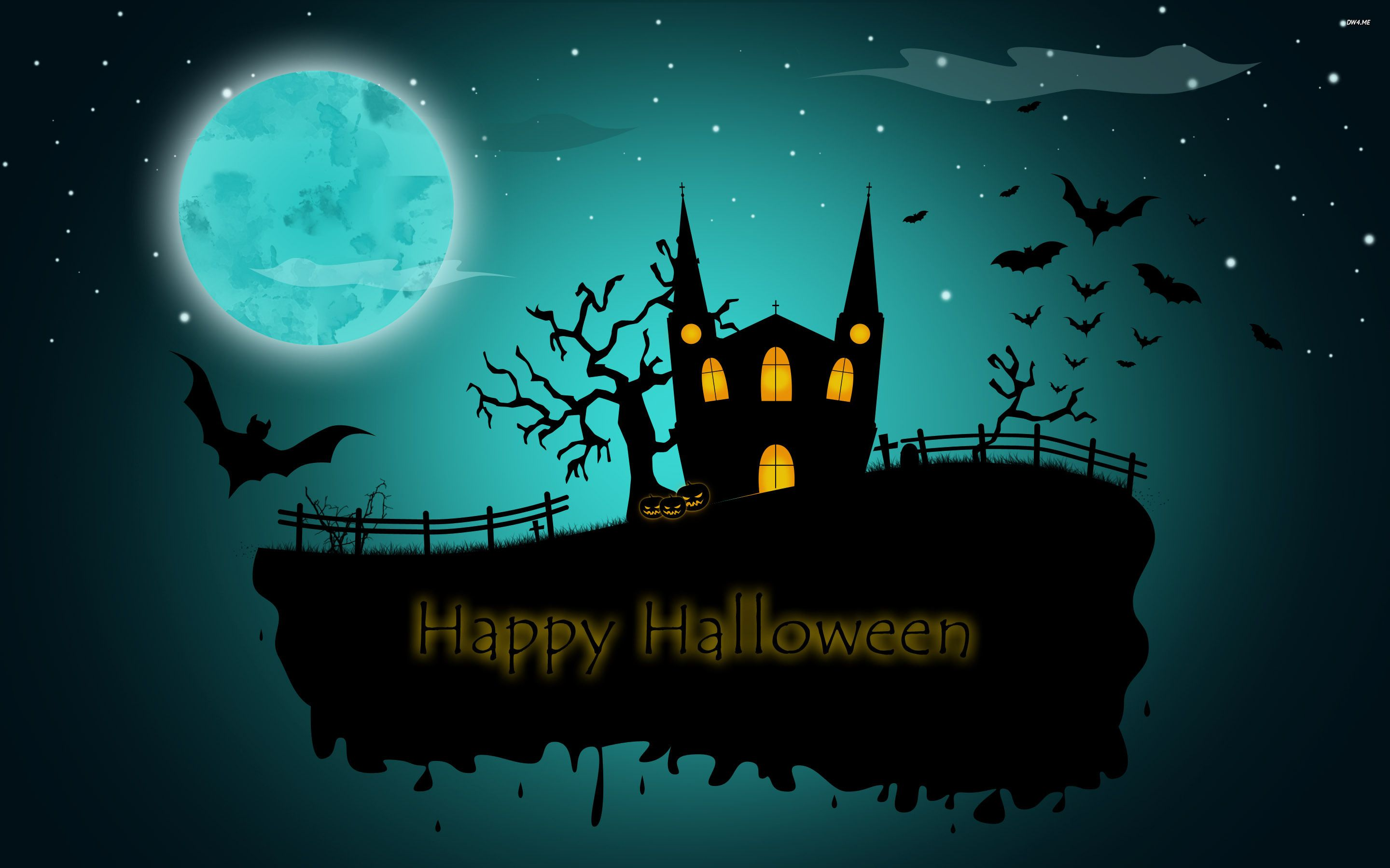Nice Happy Halloween Wallpaper