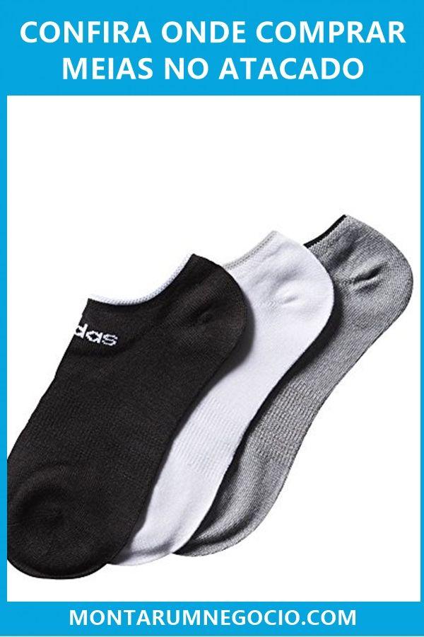 083ebf6eb Você está querendo saber onde comprar meias para revender  Aqui vou mostrar  uma lista de fornecedores de meias no atacado.