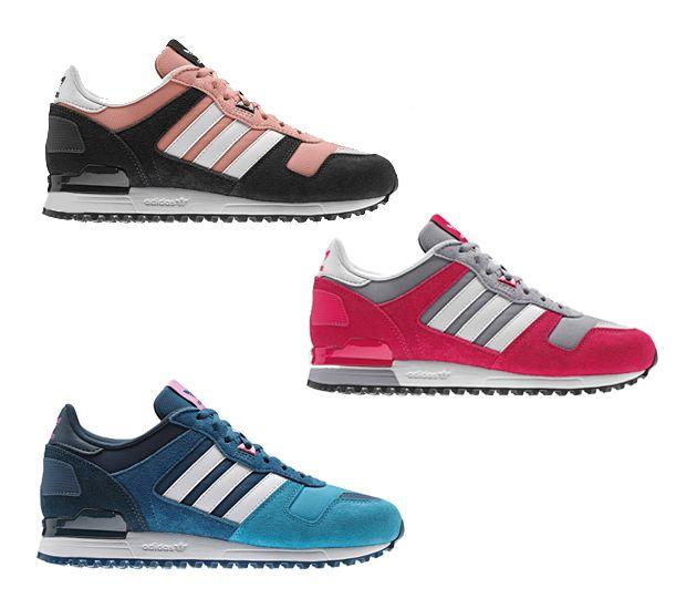 Adidas Originals Zx 700 W 3 Wersje Wiosna 2014 Schoenen Mode