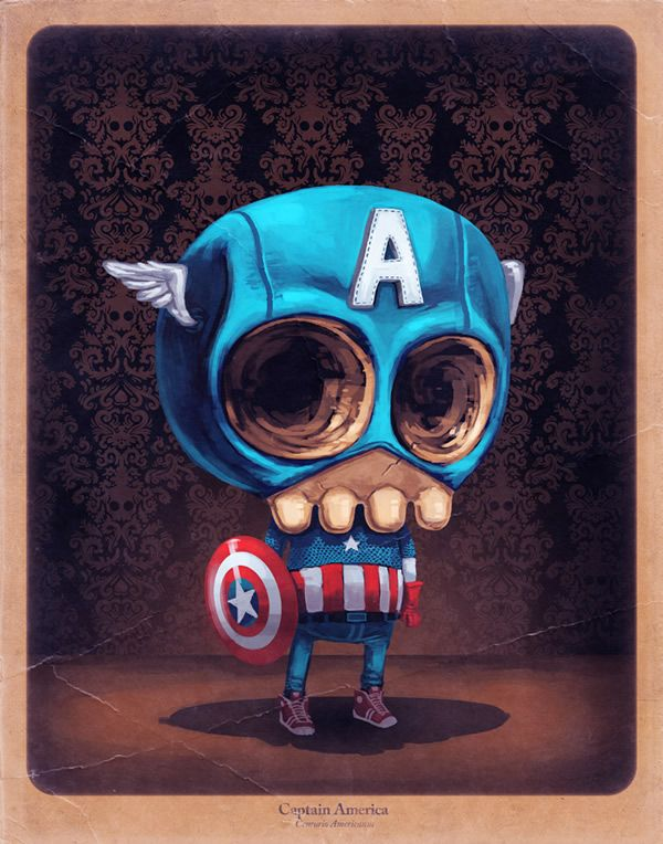 Super Stylish Illustrations by Mike Mitchell