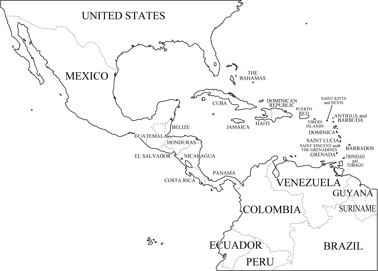 Centroamerica Y El Caribe