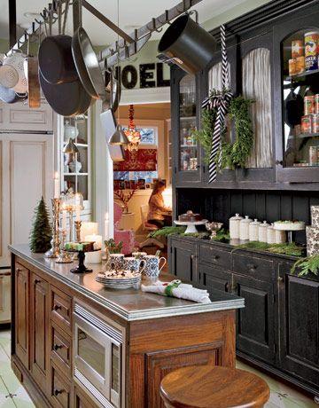 Tour A Festive Victorian Kitchen Victorian Kitchen