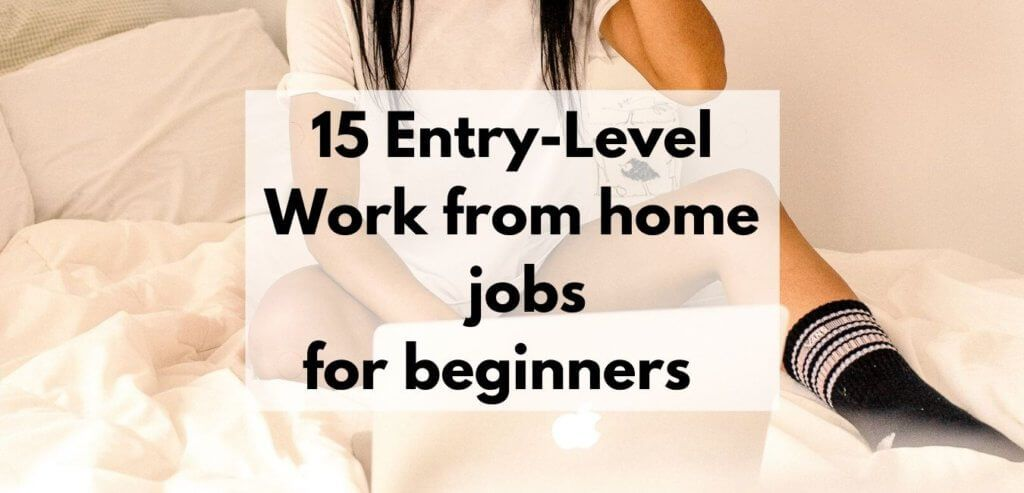 Entry Level Work From Home Jobs Online Jobs No