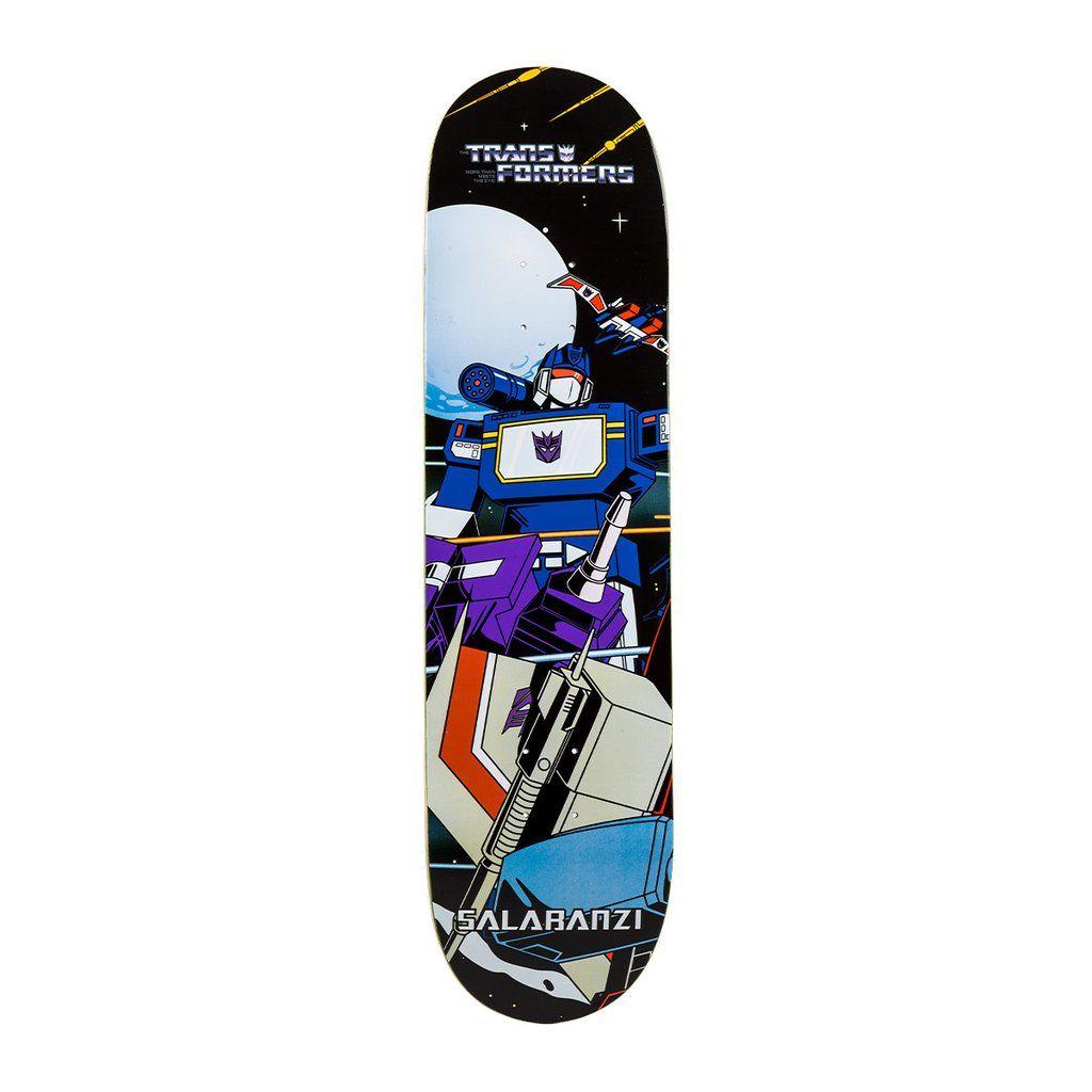 Primitive Skateboarding x Transformers Bastien Salabanzi ...