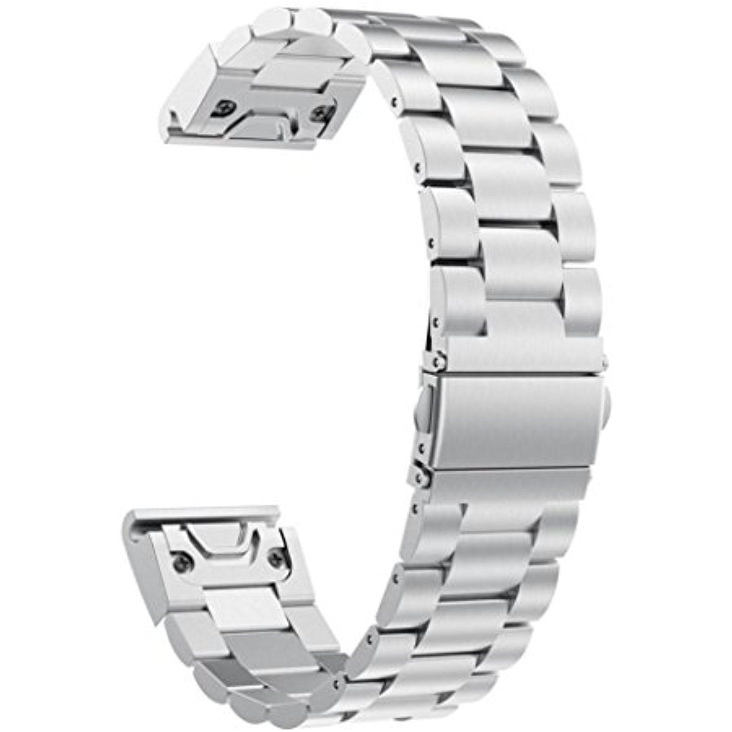 Garmin Forerunner 935 Quick Fit Wacth Band Zloskw Metal 22mm Black Replacement Stainless Steel Watch