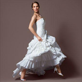 Wedding dresses for every budget flamenco gowns and for Flamenco style wedding dress