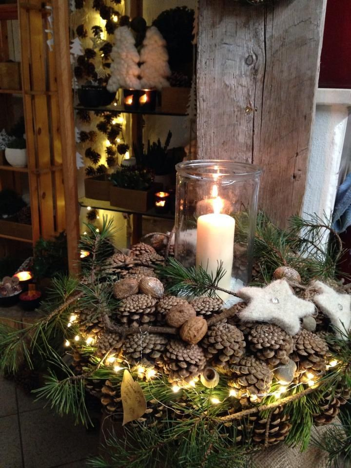 Love the felted stars #tischdekorationweihnachten Love the felted stars