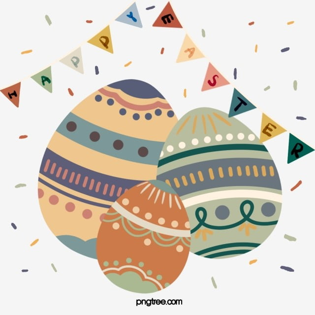 Cute Cartoon Easter Egg Element Easter Egg Coloured Flag Png Transparent Clipart Image And Psd File For Free Download Easter Graphics Easter Eggs Easter Backgrounds