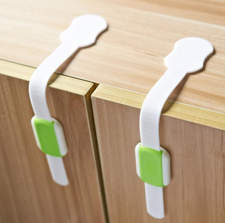 1PC Cabinet Door Drawers Wardrobe Cabinet Locks Straps Protection Baby Safety