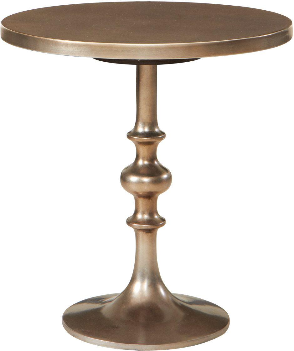 HGTV Home 6F00 H631 Accents Bronze Martini Table
