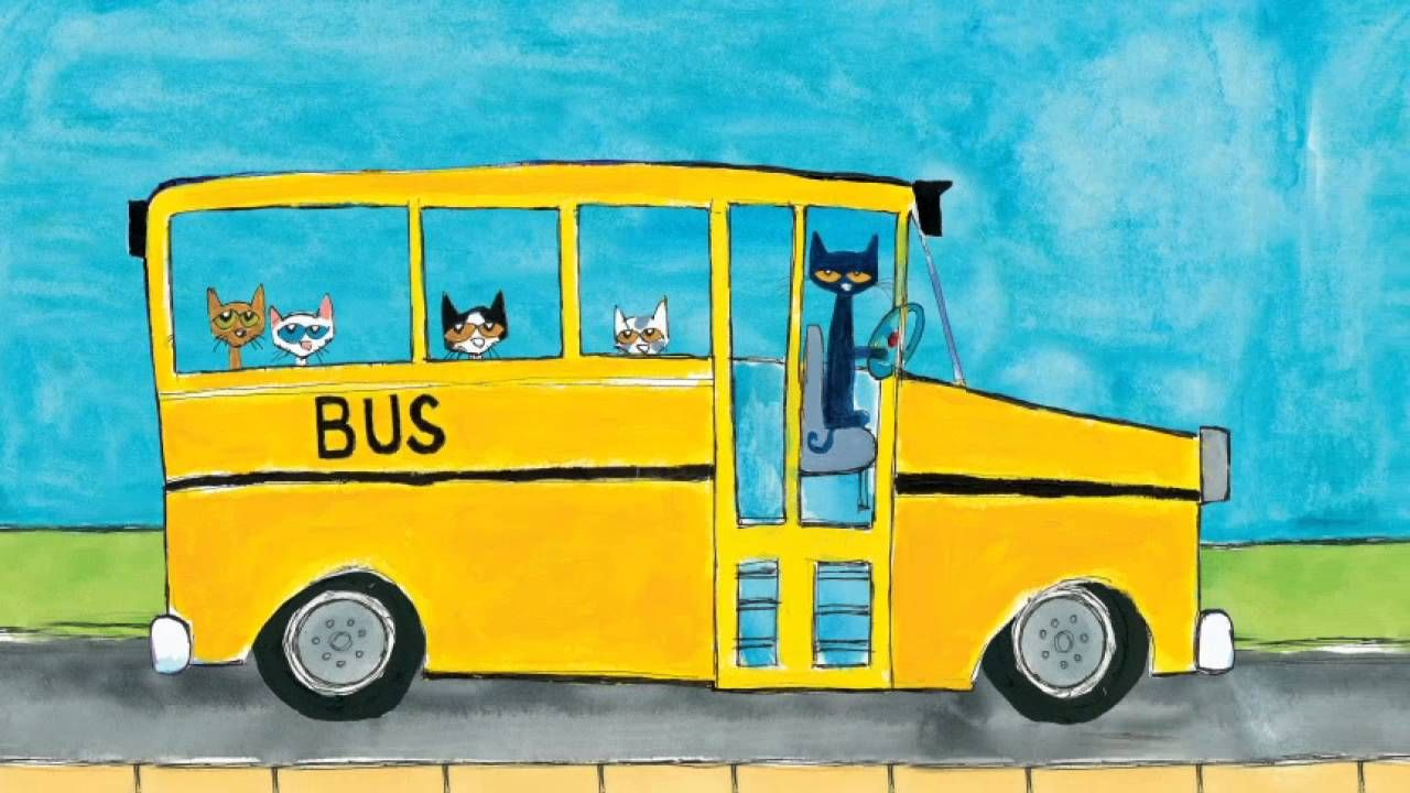 Wheels On The Bus Pete The Cat With Images Pete The Cat
