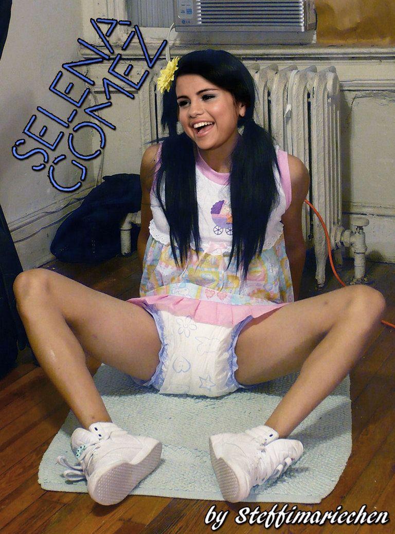 Selena Gomez In A Diaper Ad Selena Gomez Instagram