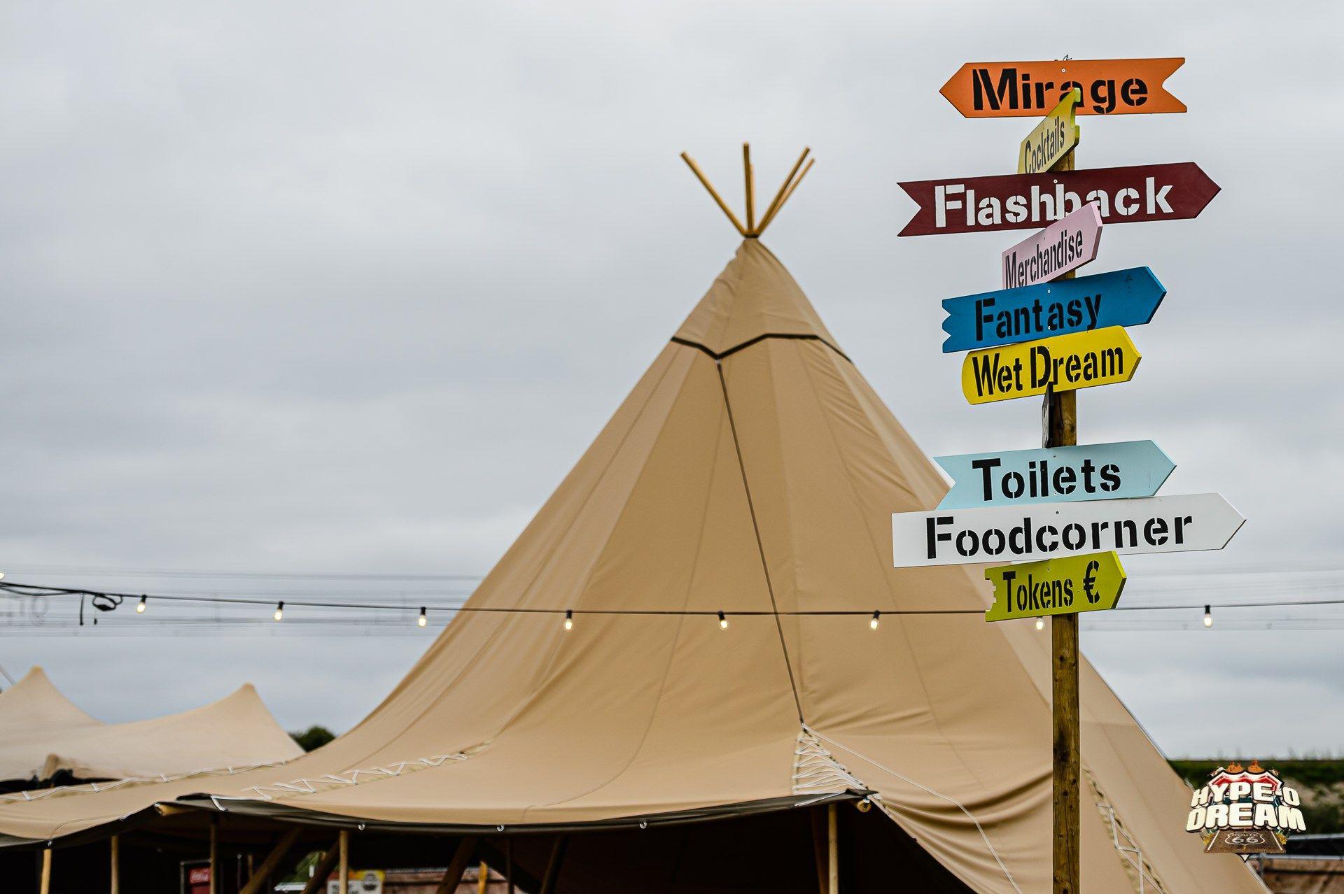Op Het Festivalterrein Zelf Kan Je Moeilijk Verdwaald Lopen