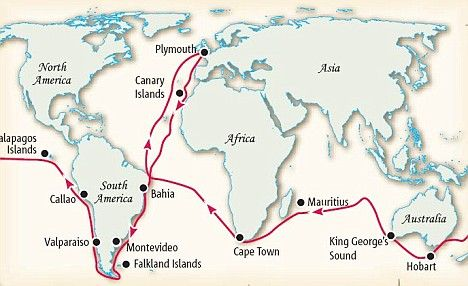 Charles Darwin Spent His Research Time On The Hms Beagle From 1831
