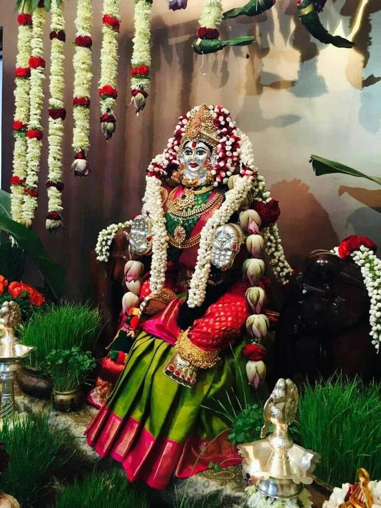 Varamahalakshmi | Goddess decor, Diy diwali decorations ...