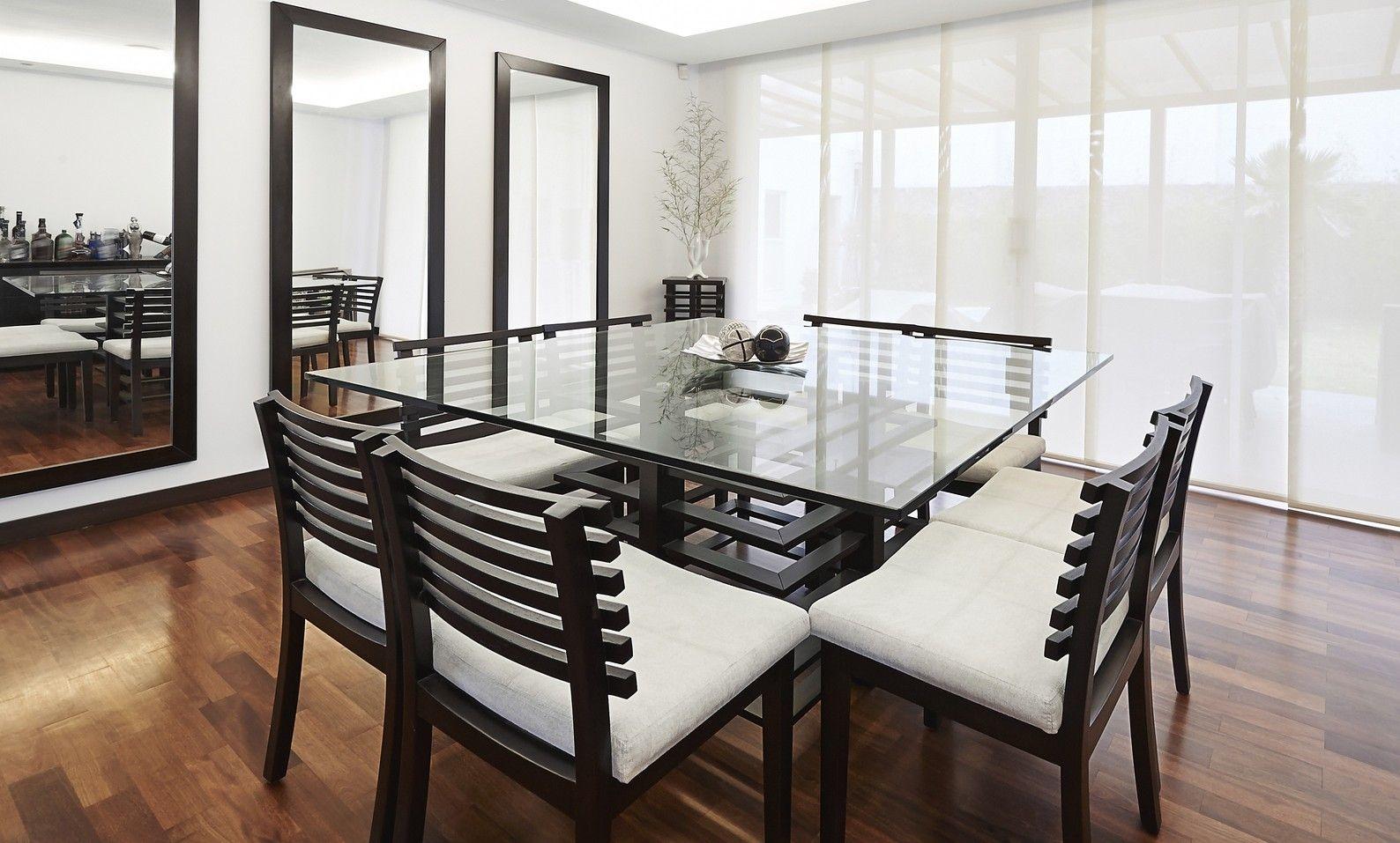 Mesas de comedor modernas mesas mesas de comedor for Mesas cuadradas para comedor