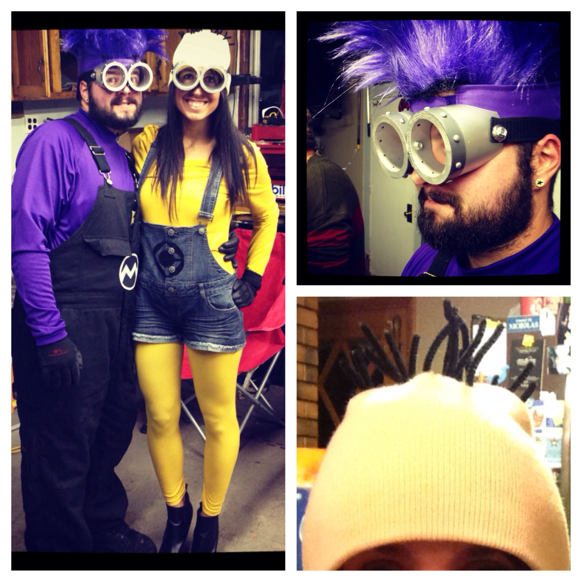 DIY minion and evil minion costumes & DIY minion and evil minion costumes | Holidays | Pinterest | Evil ...