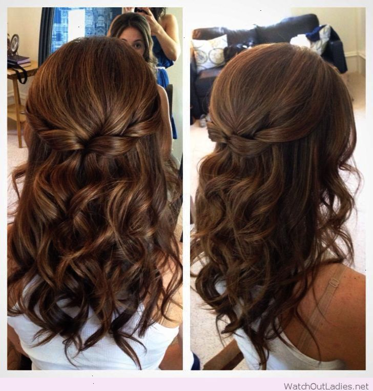 Get This Wedding Hairstyles Down For Medium Length Hair Repin Hair Styles Curled Prom Hair Medium Hair Styles