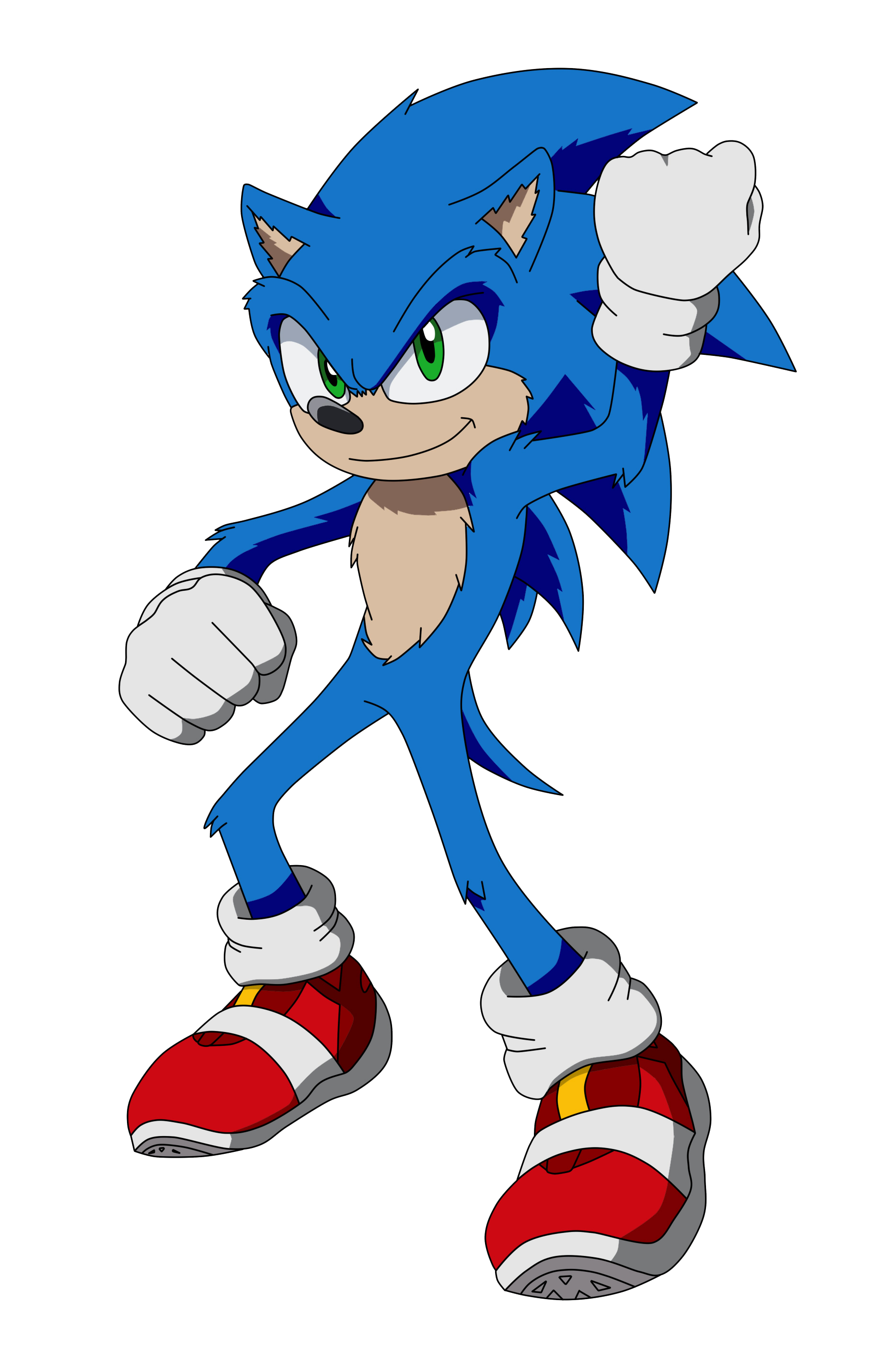 Sonic Movie By Artsonx On Deviantart In 2020 Sonic Sonic The Movie Sonic Fan Art