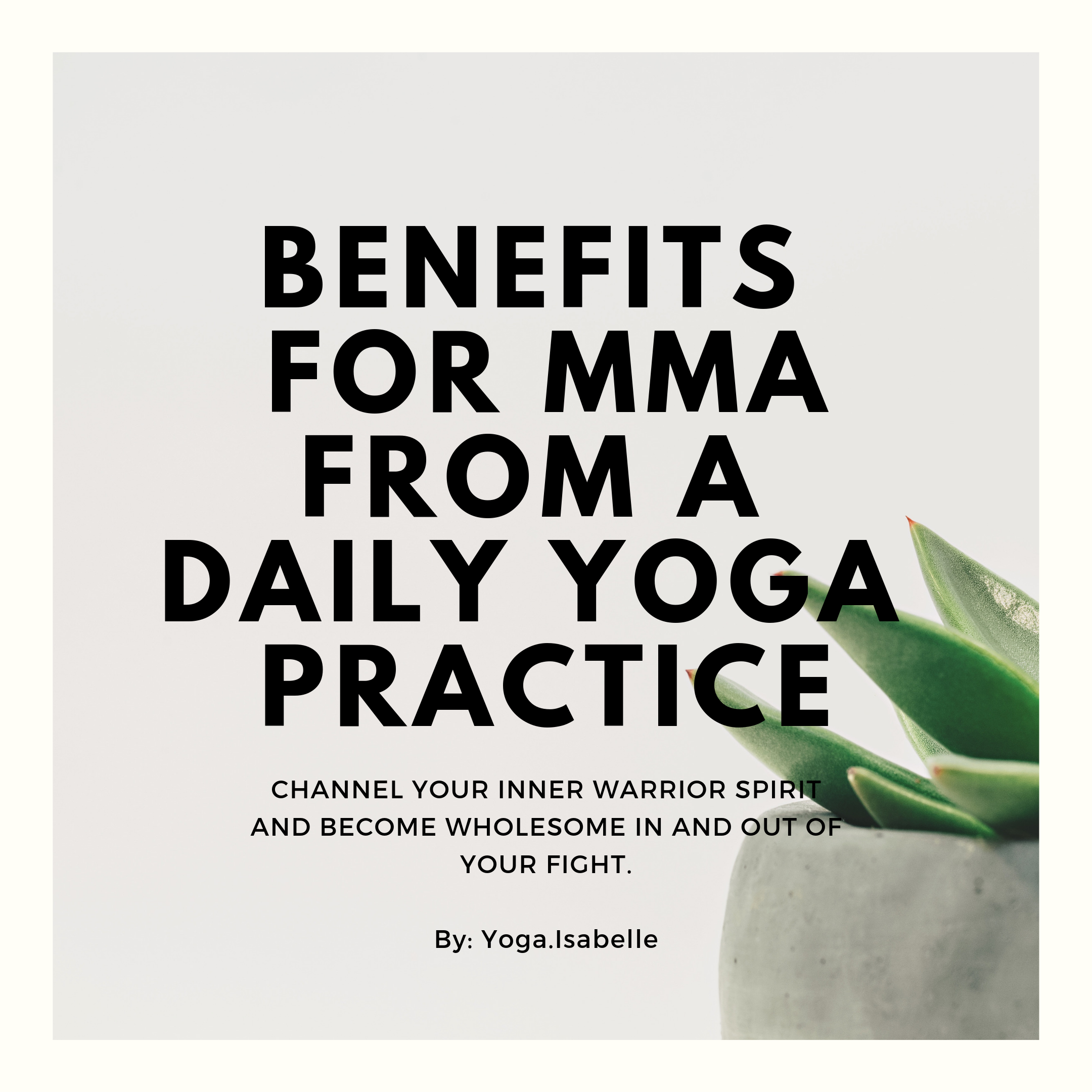 Yoga For Mma Muay Thai Bjj Wrestling Daily Yoga Martial Artists Yoga