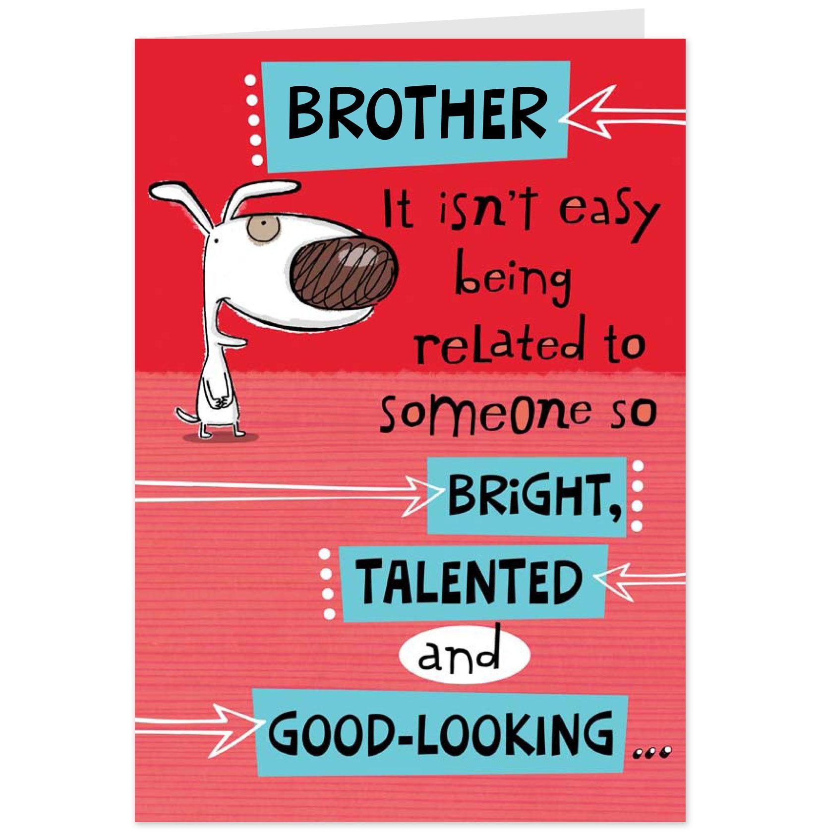 Happy Birthday Brother Funny - Bing images | birthday ...