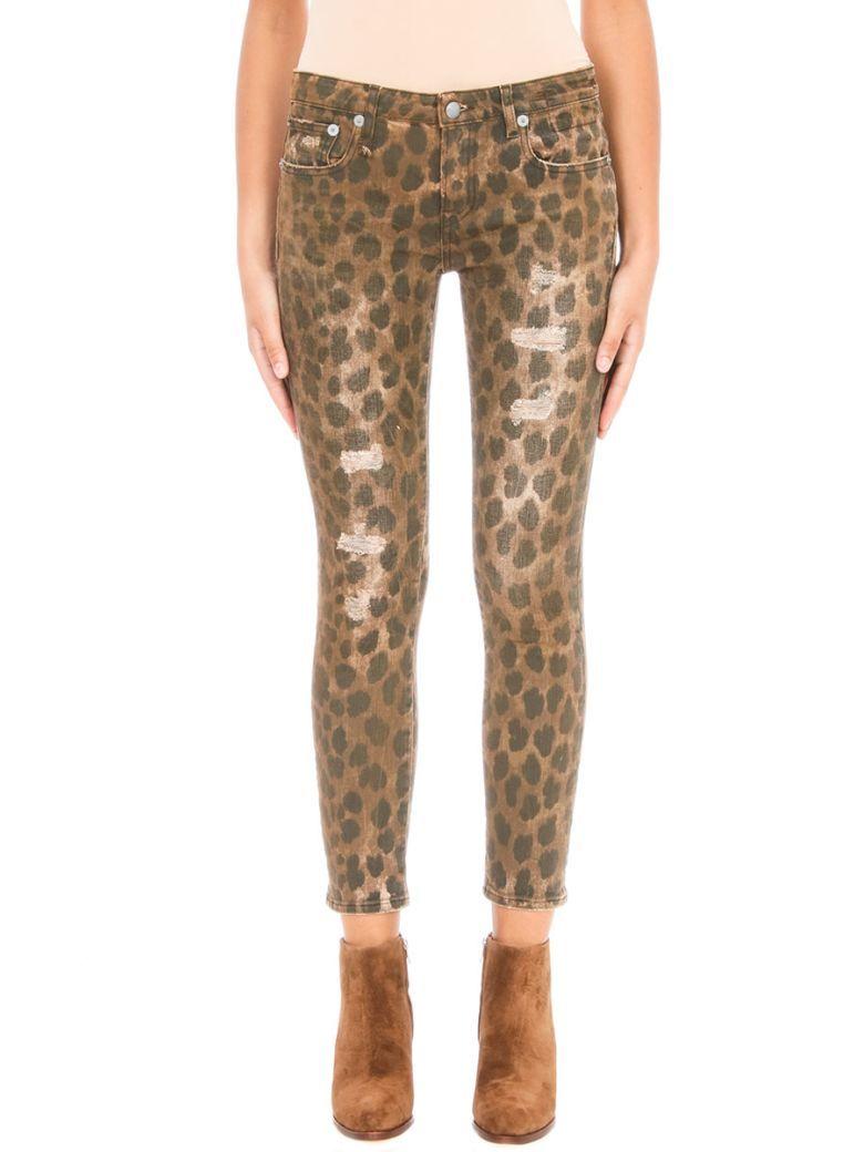R13 R13 Kate Leopard Print Skinny Jeans. #r13 #cloth #