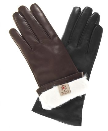abf042e91 Women's Italian Rabbit Fur Gloves By Fratelli Orsini | Free USA ...