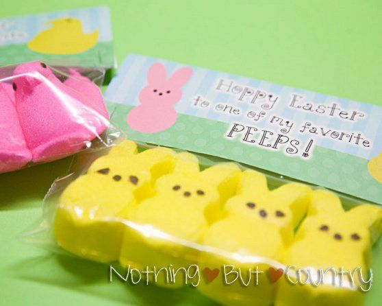 100 great easter free printables easter peeps and bag toppers 100 great easter free printables negle Gallery