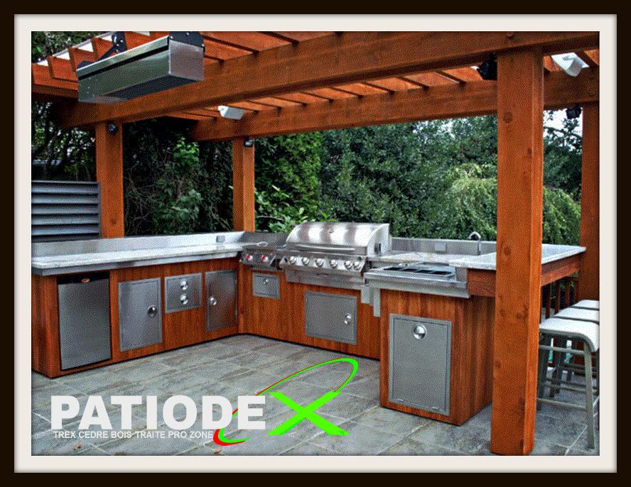 Patio bois fm pinterest patios bois et ext rieur for Plan de patio exterieur