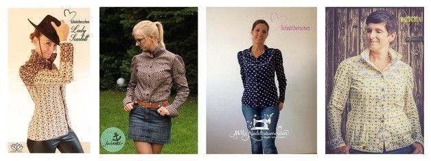 Nähanleitungen Mode - Lady Scarlett 32-50 - ein Designerstück von Schnittherzchen bei DaWanda