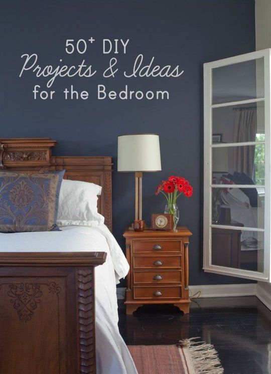 Diy Decoration For Bedroom Magnificent 50 Diy Project Ideas For The Bedroom  Project Ideas Bedrooms Design Ideas