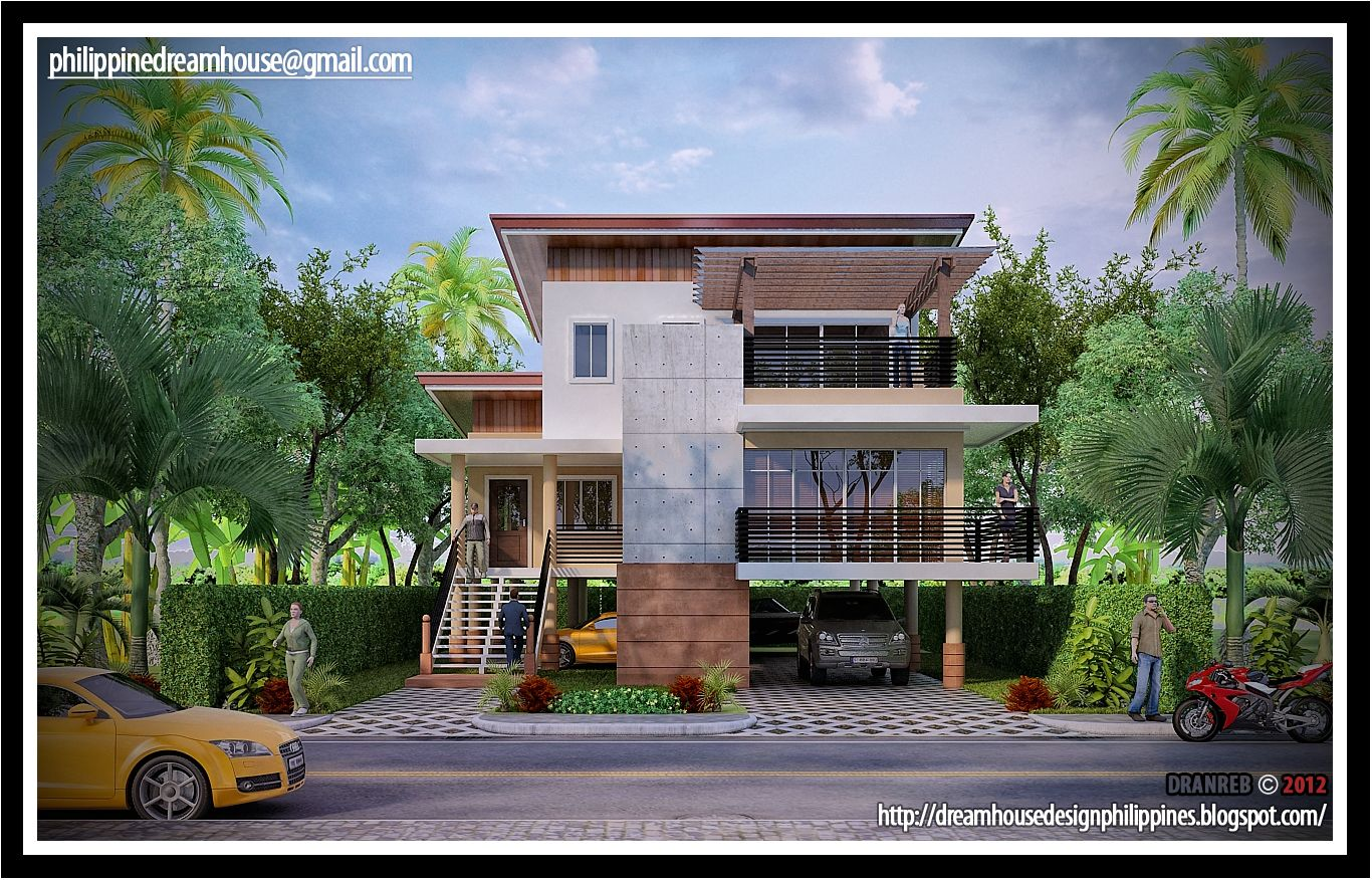 Philippine Dream House Design Philippine Flood Proof Elevated House Design Vacation House Plans Dream Home Design House On Stilts
