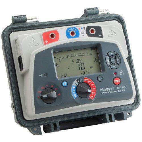 Fast Arrival Megger Mit525 5kv Analog Digital Insulation Resistance Tester 500v 1000v 2500v 5000 V 10t Ohms Tester Insulation Electrical Testers