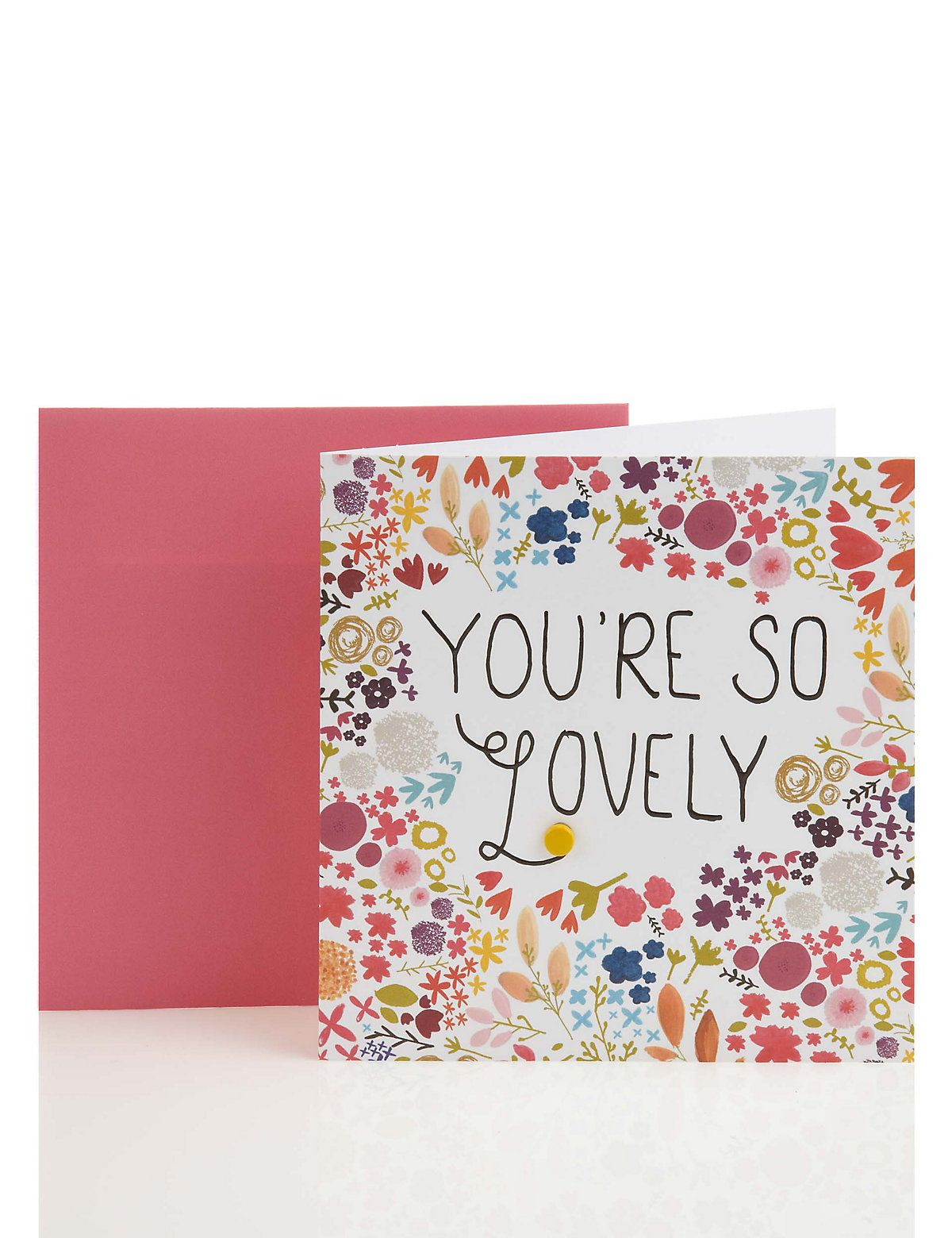 Bright floral mothers day card ms design paper goods bright floral mothers day card ms kristyandbryce Image collections