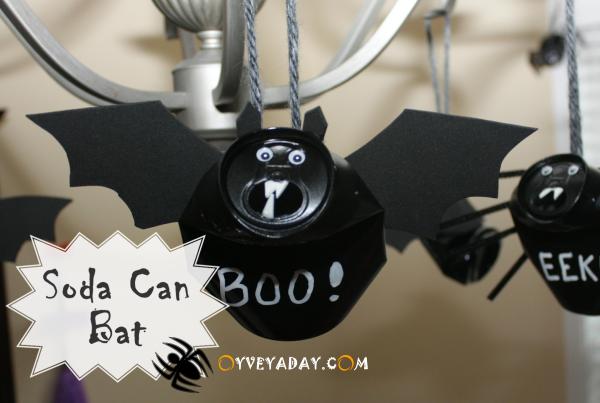 Halloween Craft Treats | Soda, Bats and DIY Halloween