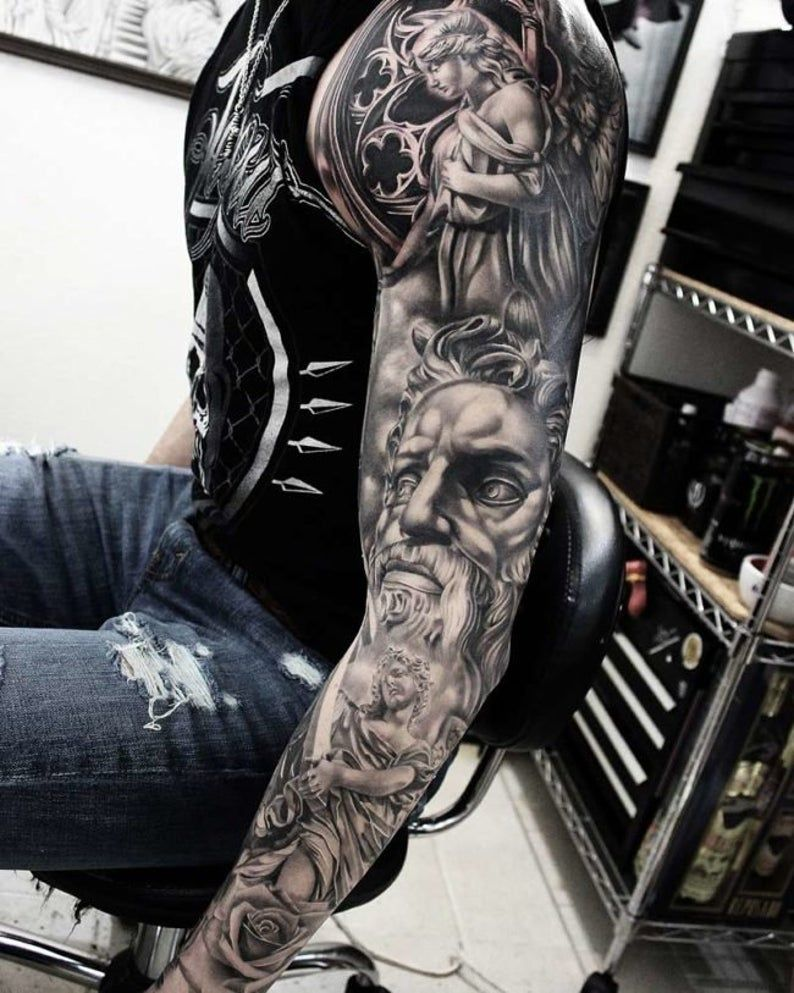 Angel cartoon temporary tattoo design 2x2 inch best