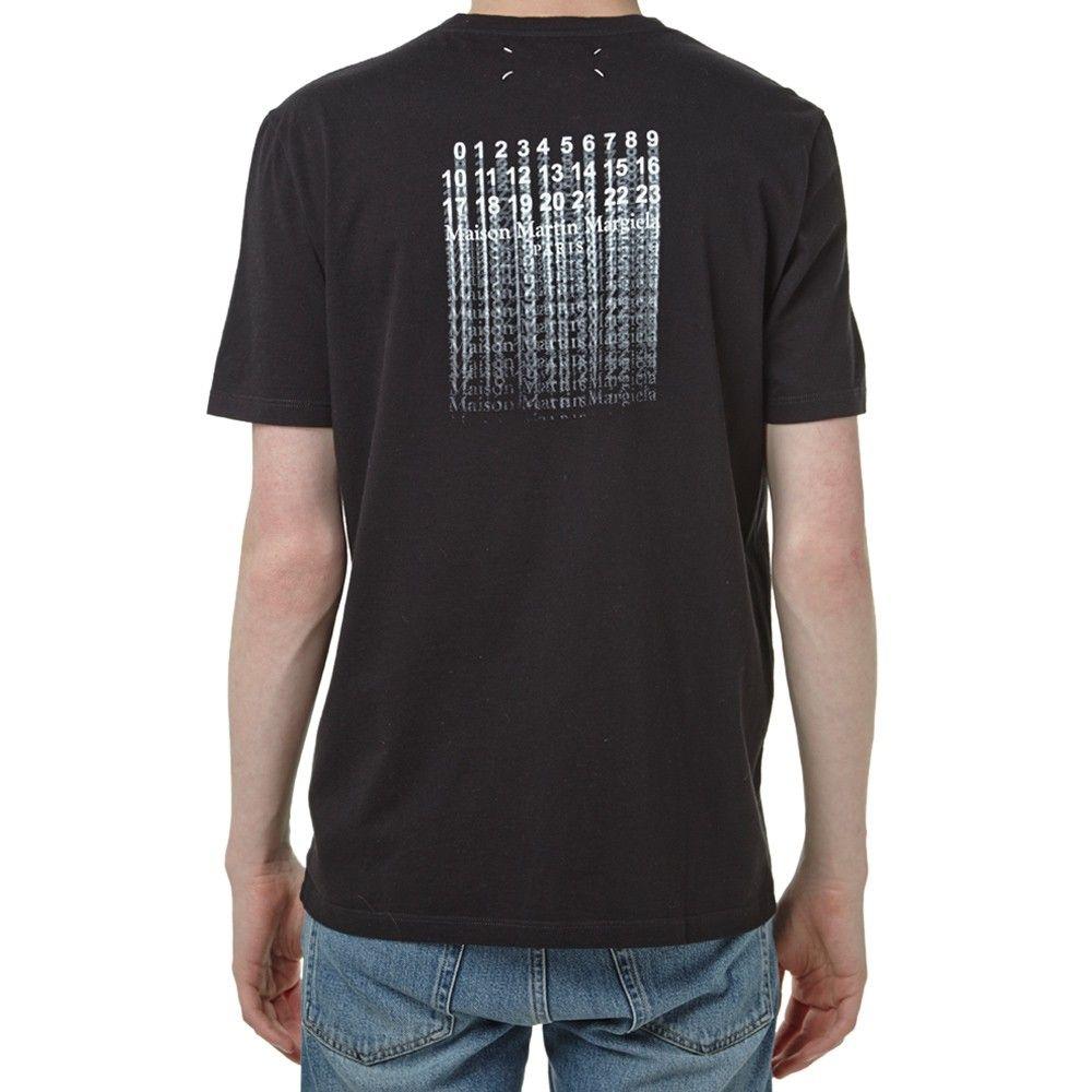 printed sweatshirt - Black Maison Martin Margiela Hot Sale For Sale Cheap Buy Free Shipping Excellent Outlet Release Dates 631kJw6RDj