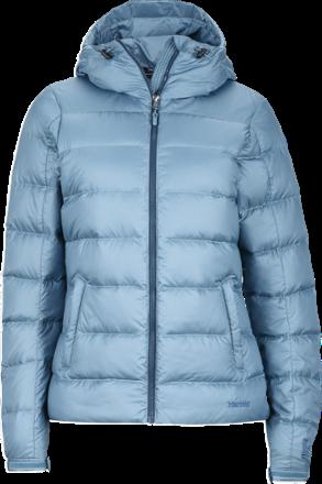 e3f2742a5a Marmot Women s Guides Down Hoodie Blue Steel XL