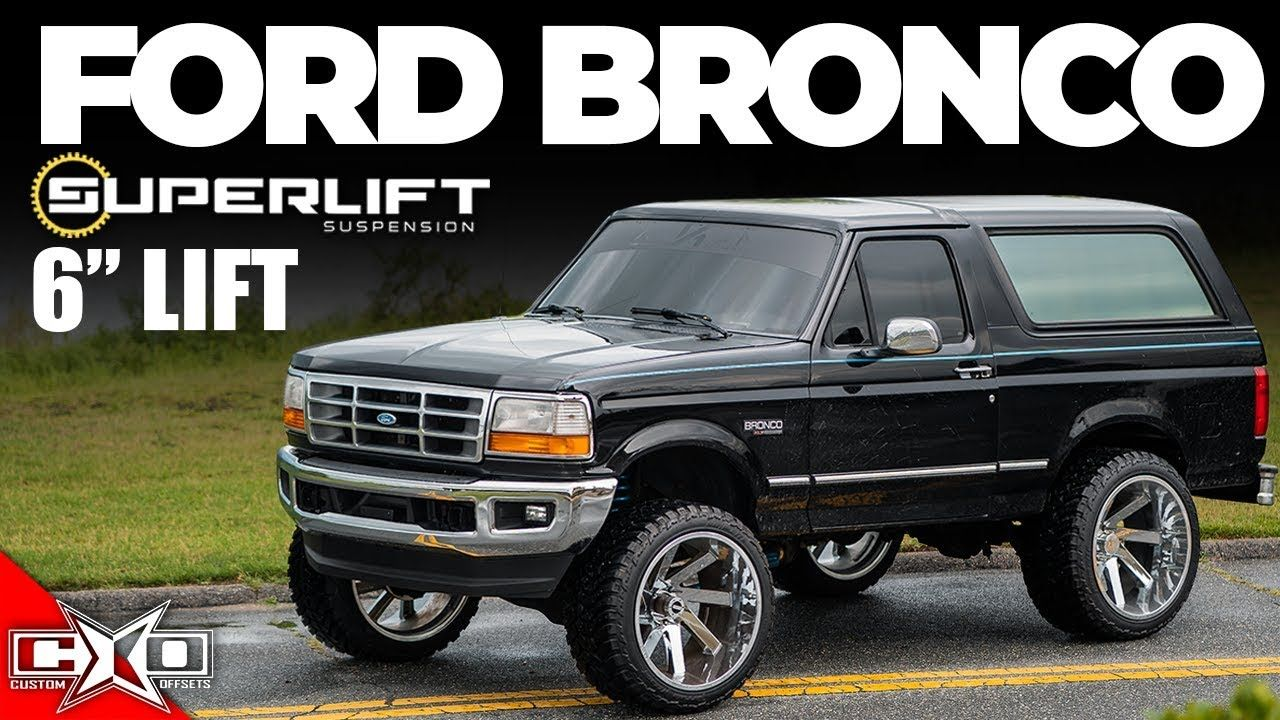 Lifts Levels 6 Superlift For 1994 Ford Bronco Ford Bronco