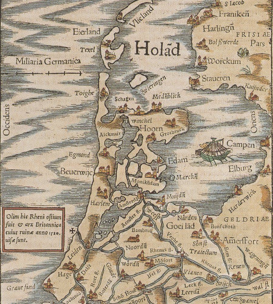 Graafschap holland old maps pinterest holland loved experiencing this watery country find this pin and more on old maps sciox Gallery