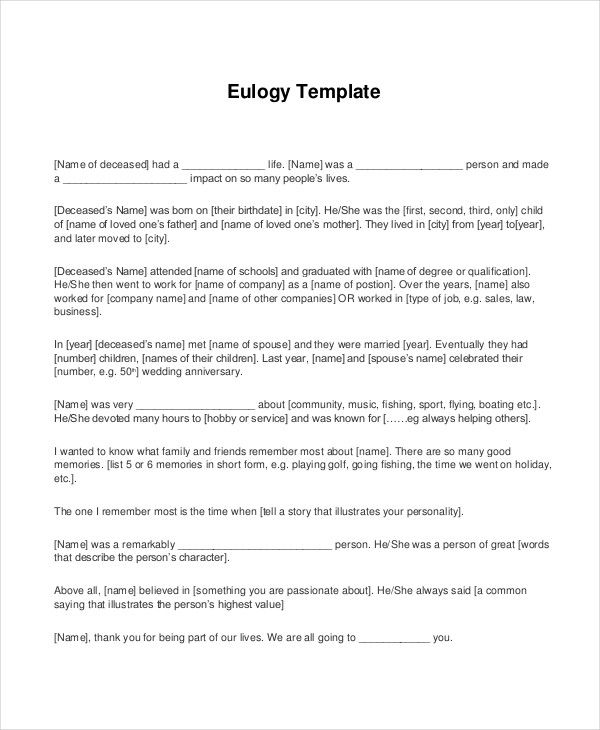 How To Write A Eulogy For A Mother Custom Paper Academic Writing