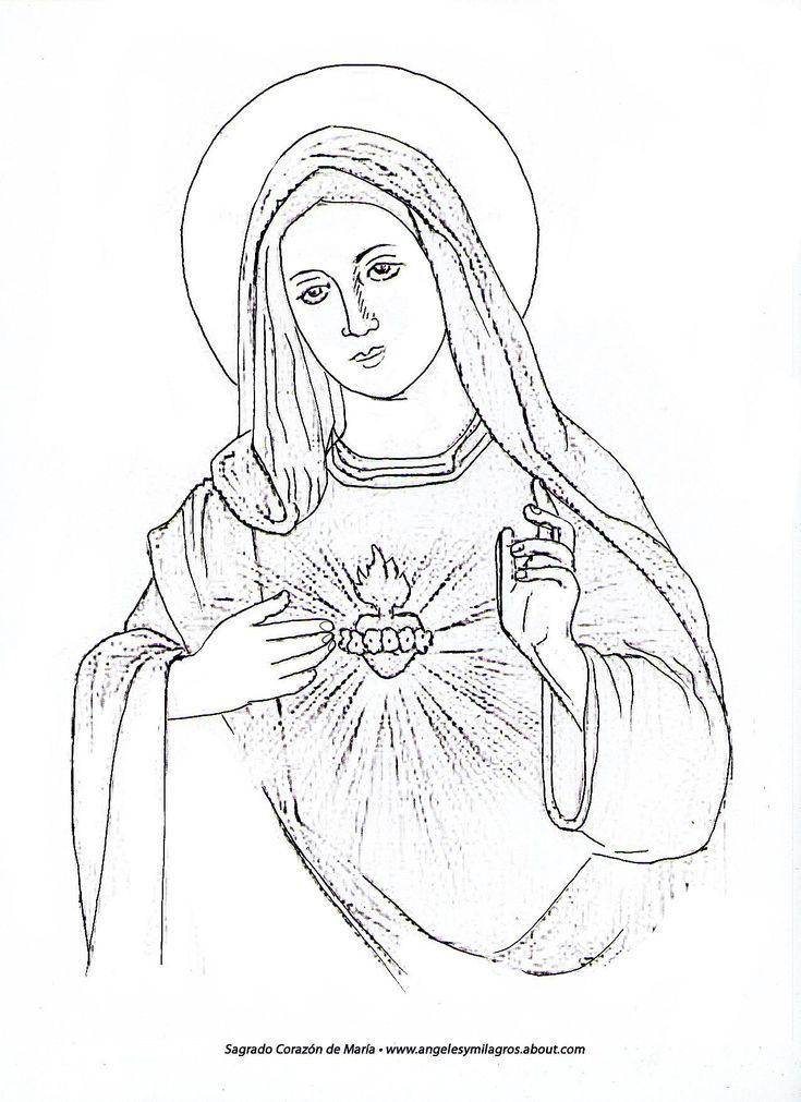 Inspírate a pintar a la Virgen María como parte de tu práctica ...
