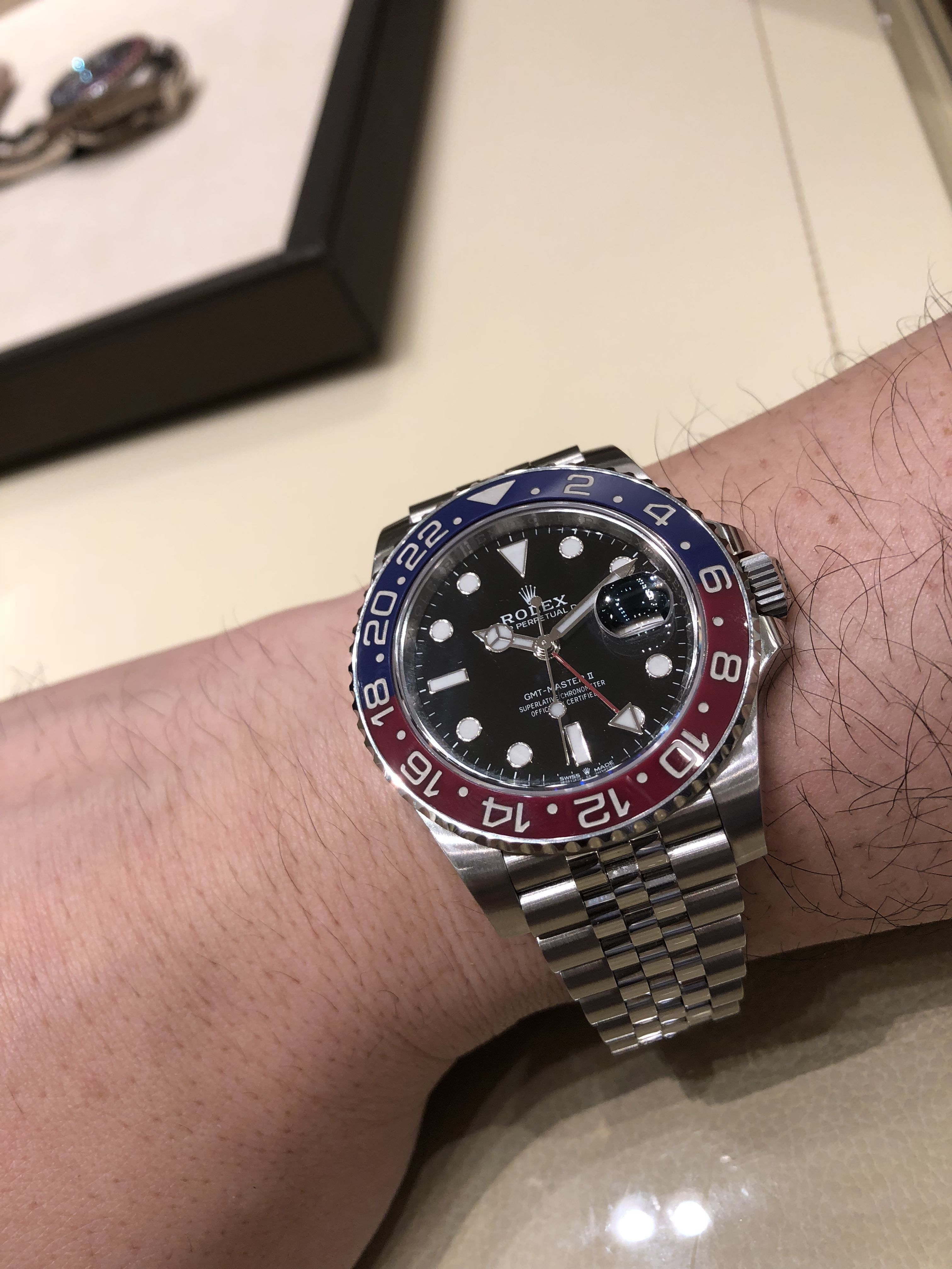 27105be096f 2018 Rolex GMT Master II Montres