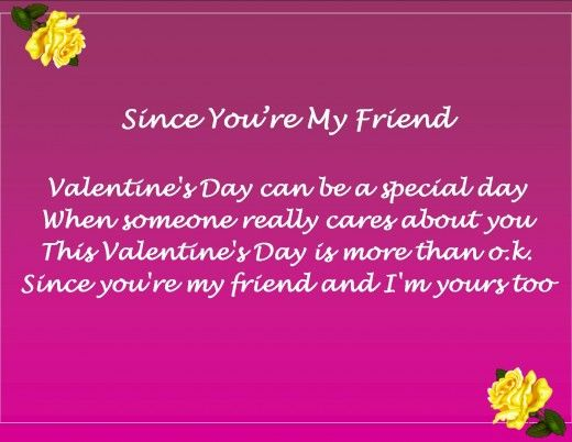 Friend Valentine S Day Messages Poems And Quotes Valentines Day Quotes For Friends Valentines Poems Friends Valentines Day