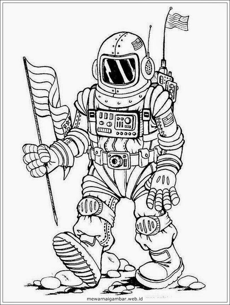 Animasi Astronot Terlengkap Dan Terupdate