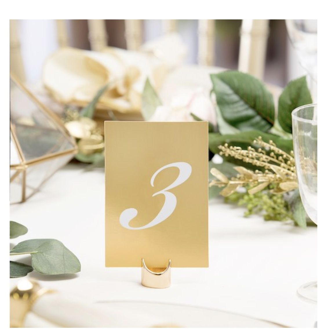 David Tutera Gold Vertical Table Numbers In 2021 Wedding Table Numbers Wedding Numbers Gold Table Numbers Wedding