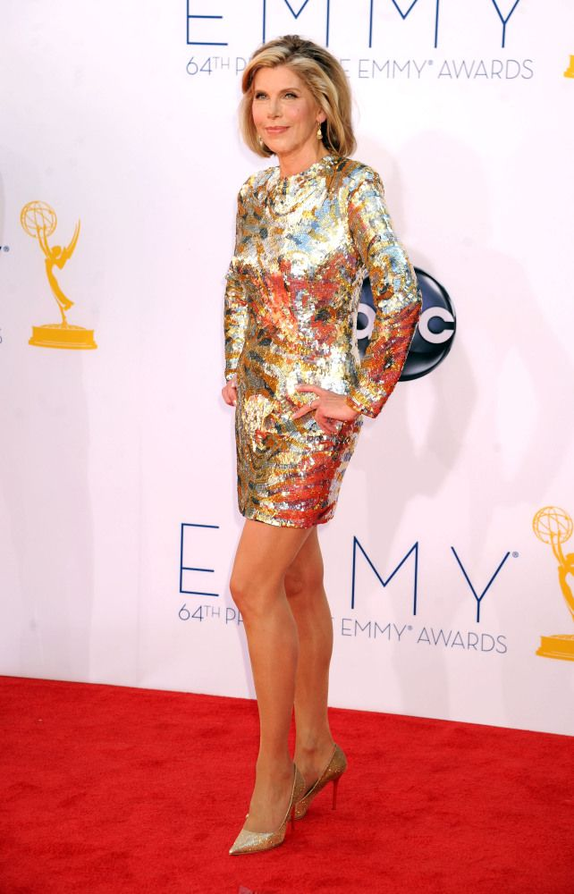 Hot Damn If I Look As Good As Christine Baranski Did At The Emmys Last Night When Im Her Age Ill Run Laps Naked