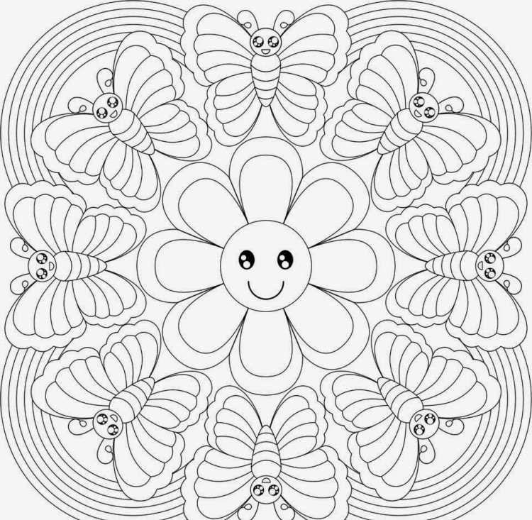 Mandala enfant: 25 idées originales à emprunter et à imprimer ...